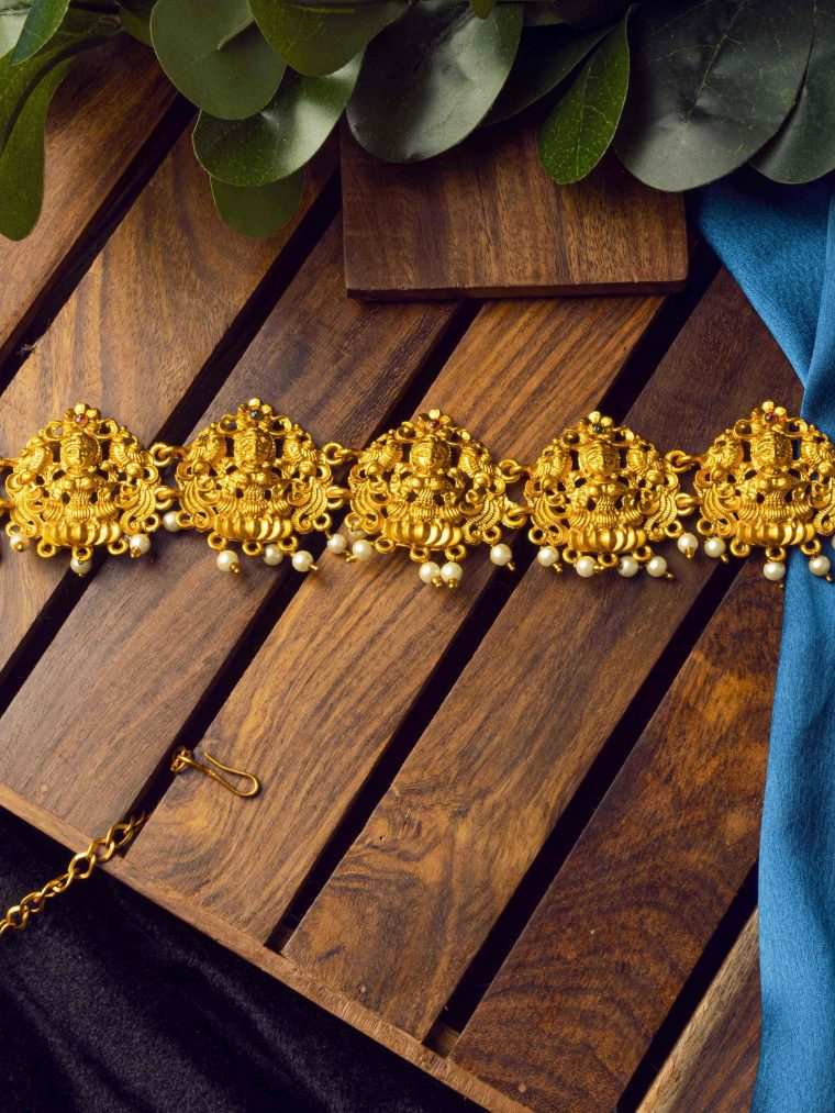 Traditional Lakshmi Design Hip Belt