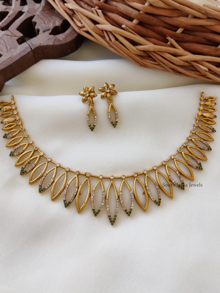 Trendy Gold Plated Necklace
