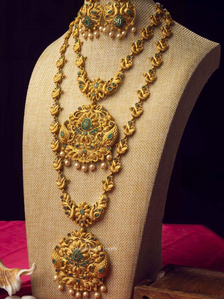 Trendy Temple Jewellery Combo