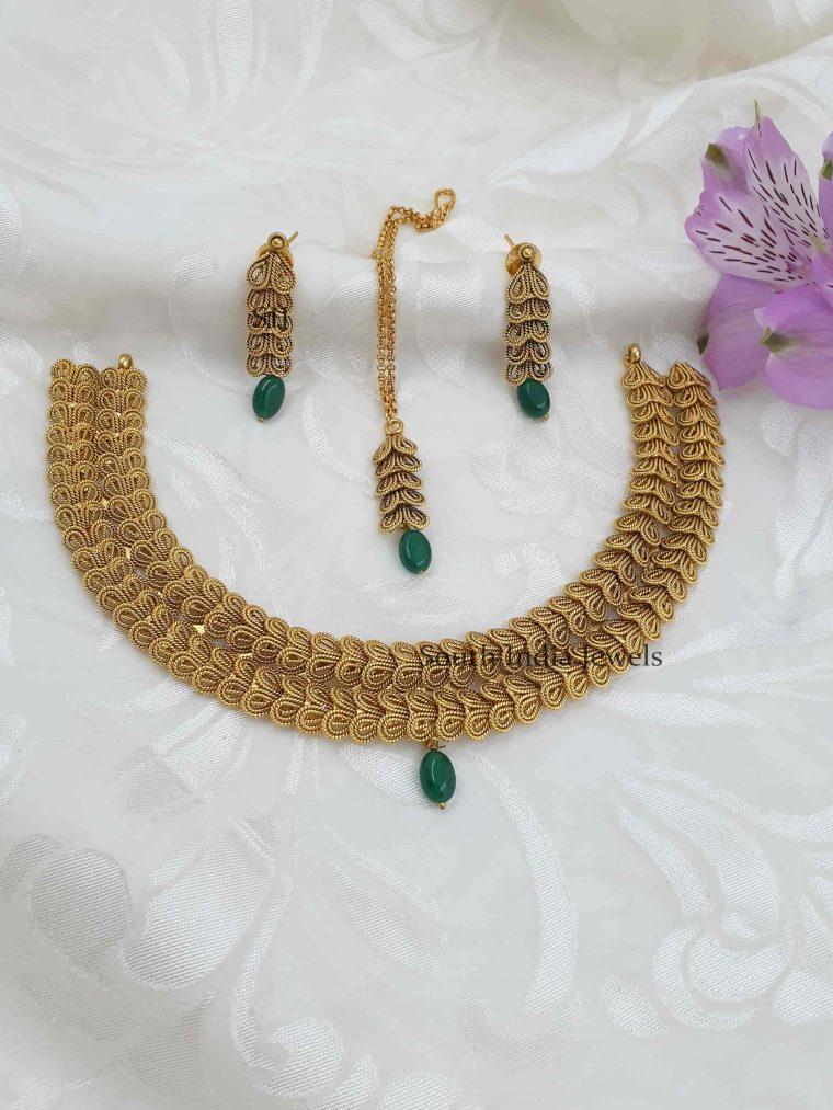 Unique Design Antique Necklace Set