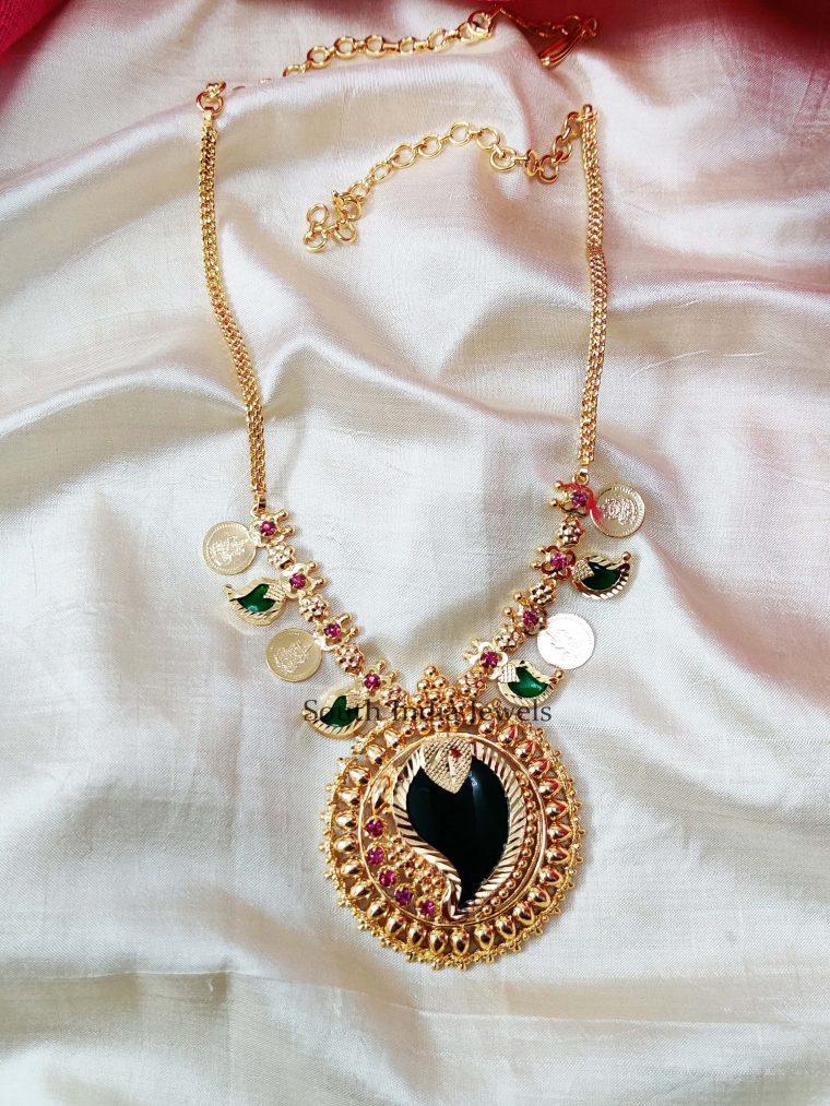 Unique Heavy Pendant Necklace