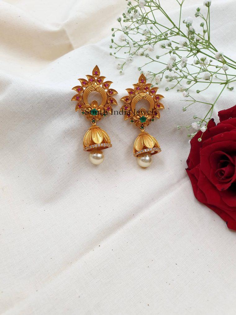 Amazing Floral Design Jhumkas