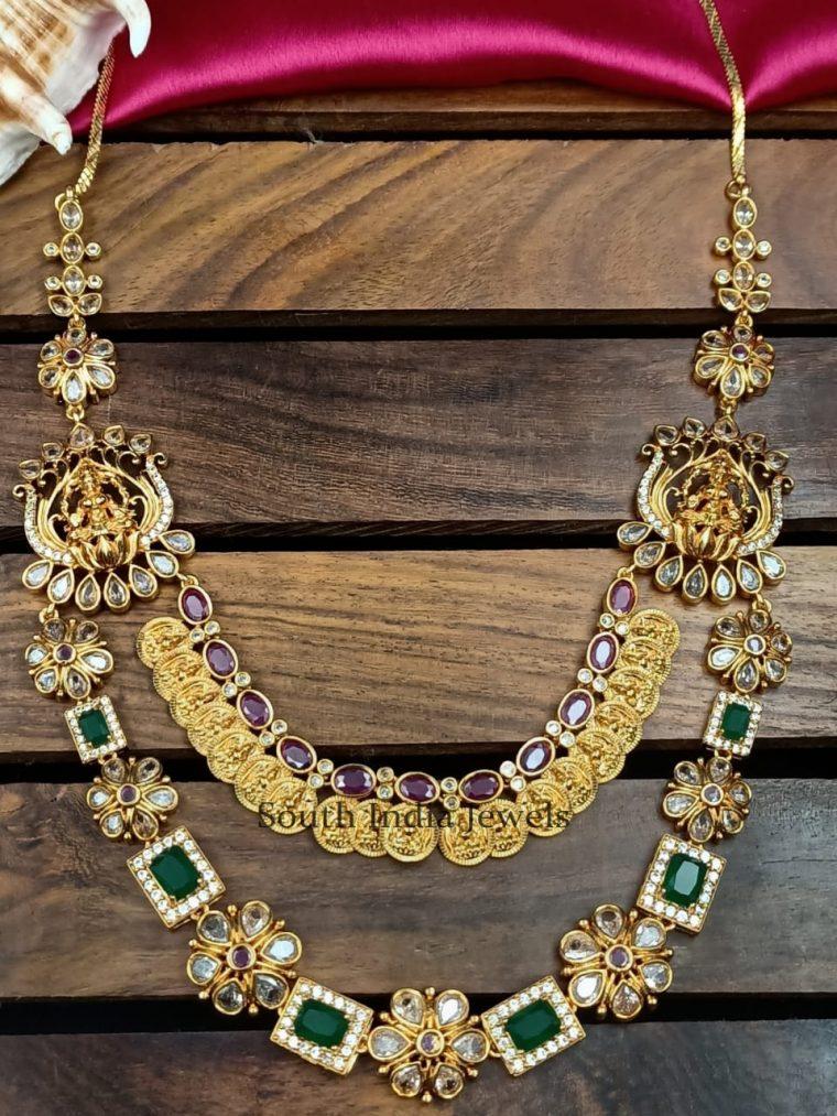 Amazing Multi Layer Lakshmi Haram
