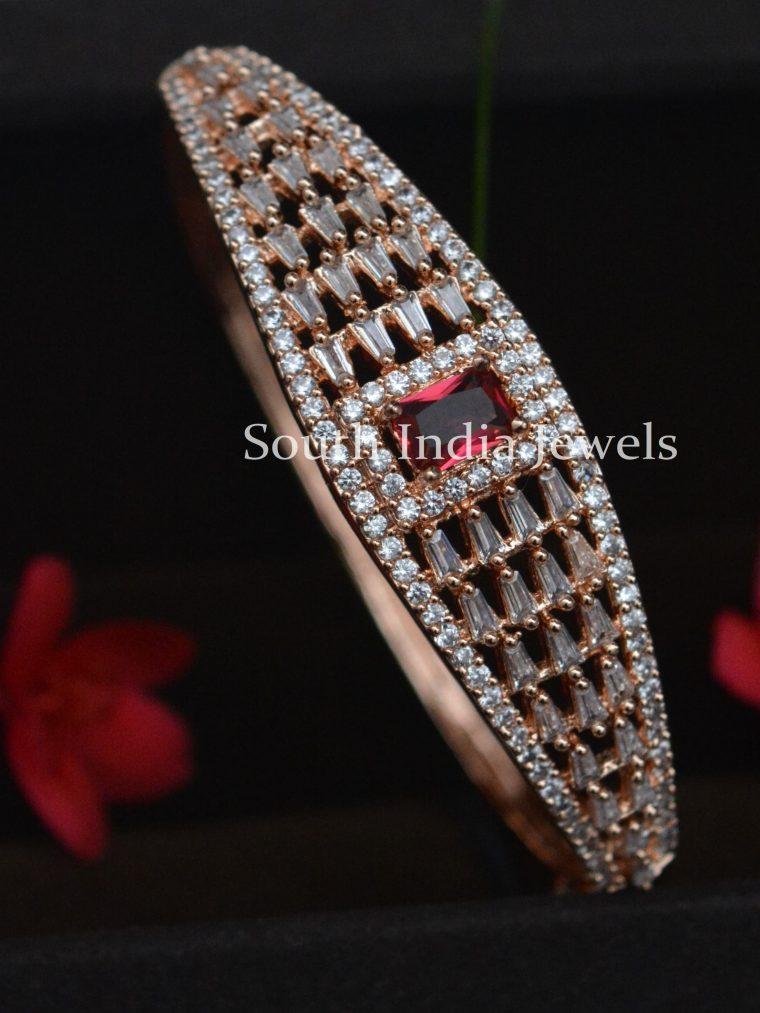 Amazing Rose Gold Kada Bangle