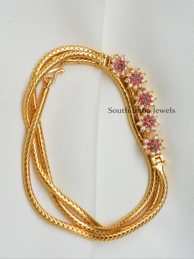 Beautiful Design Mugappu Chain