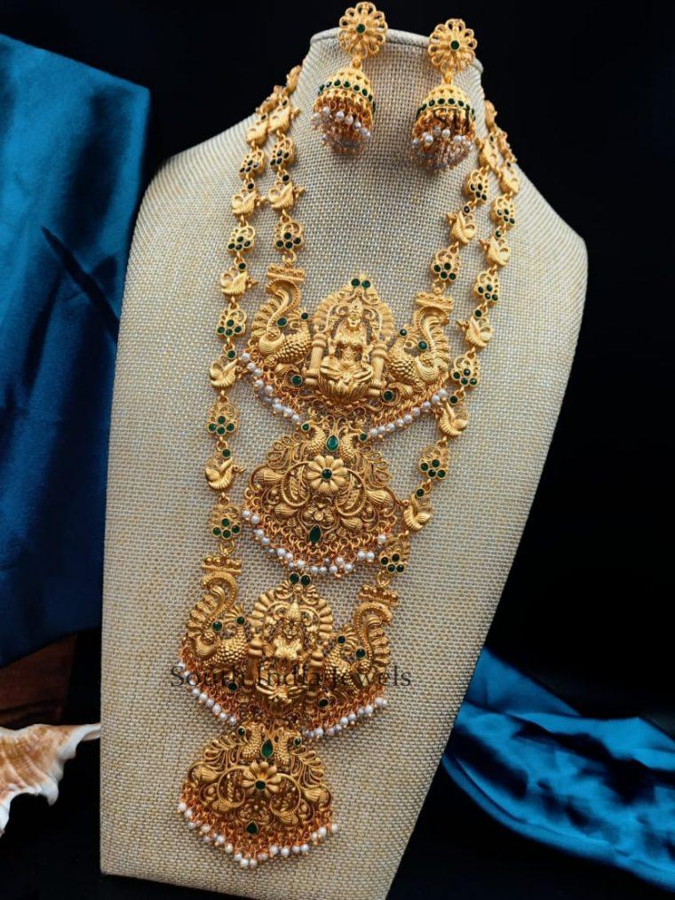 Beautiful Lakshmi Design Combo Set
