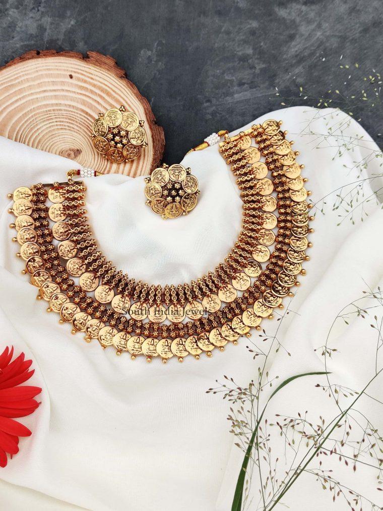 Beautiful Layer Lakshmi Necklace