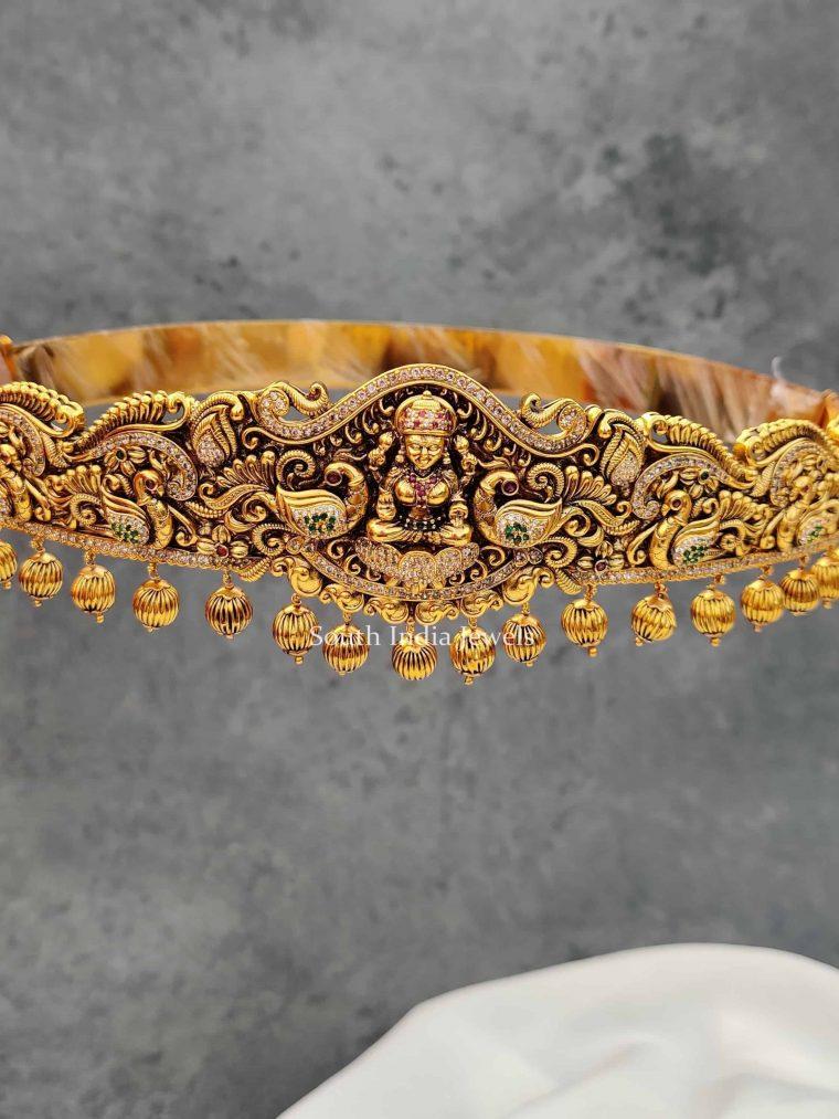 Bridal Antique Lakshmi Design Hib Belt
