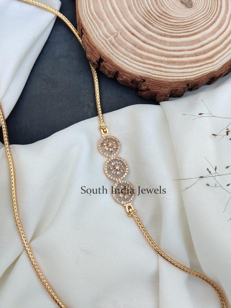 Charming Chakra Mugappu Chain