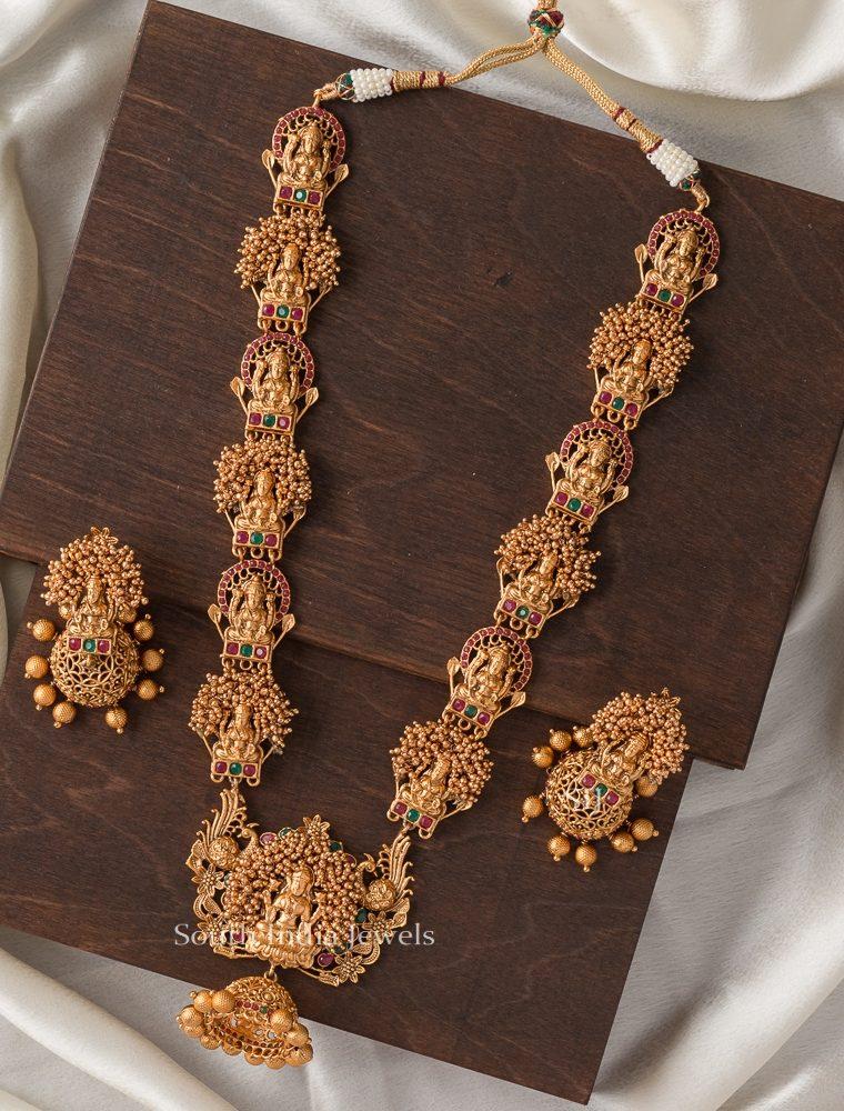 Classic Bridal Lakshmi Haram