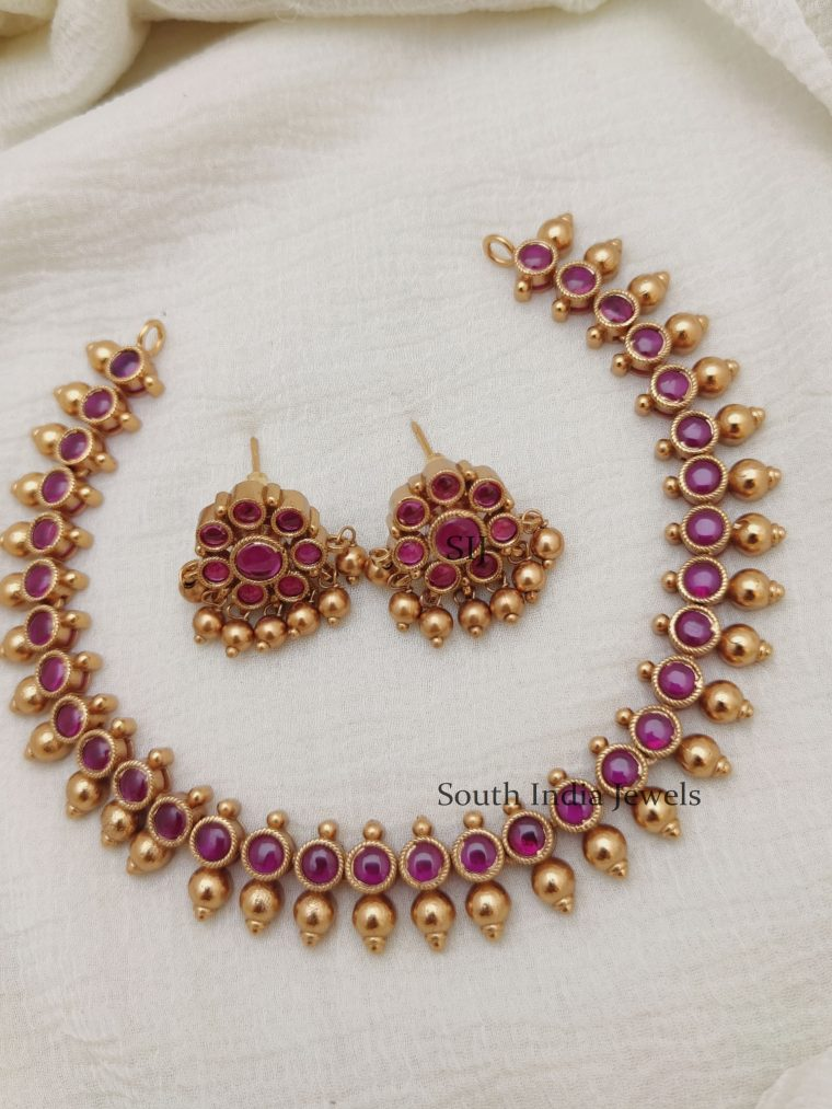 Classic Kemp Stones Necklace (2)
