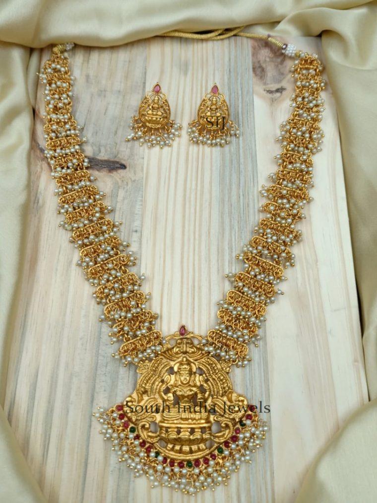 Classic Lakshmi Design Necklace