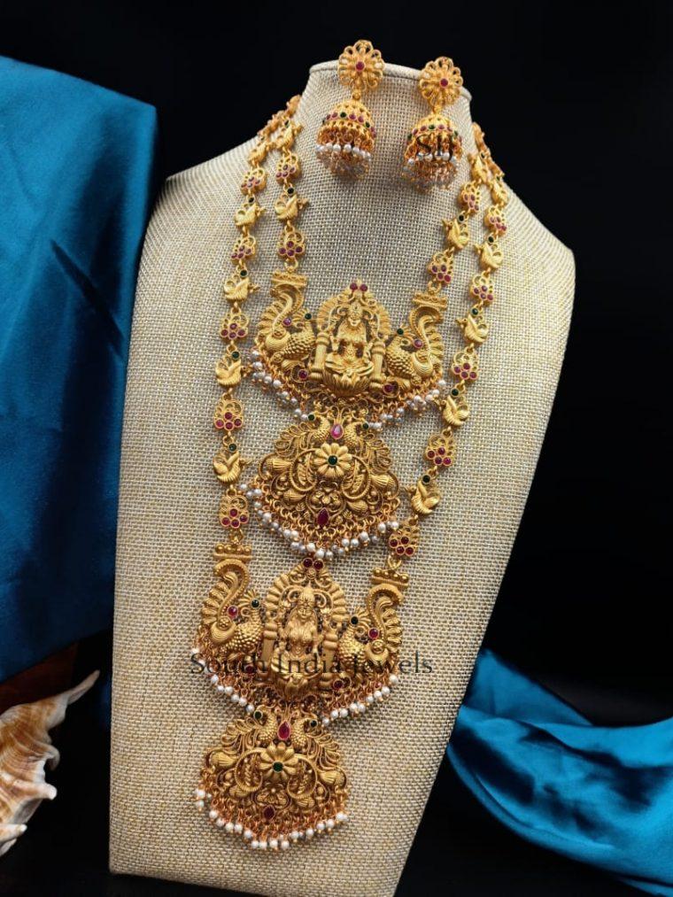 Exquisite Lakshmi Design Combo Set