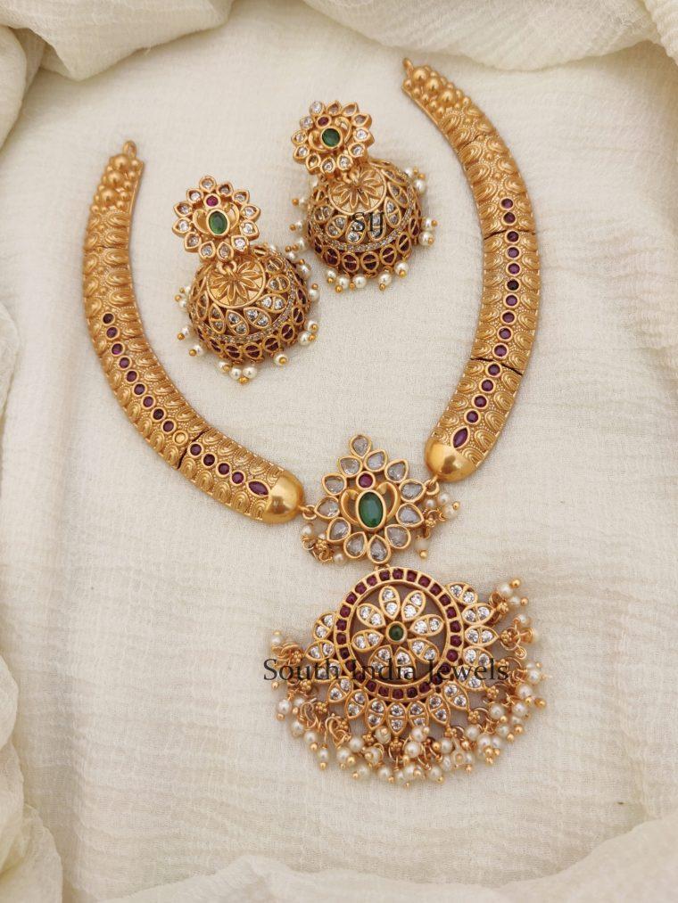 Floral Design Kemp Necklace (2)