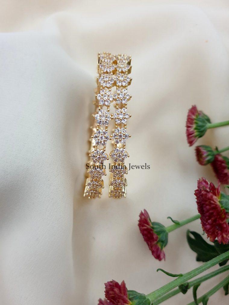 Gorgeous Floral Designer Bangles
