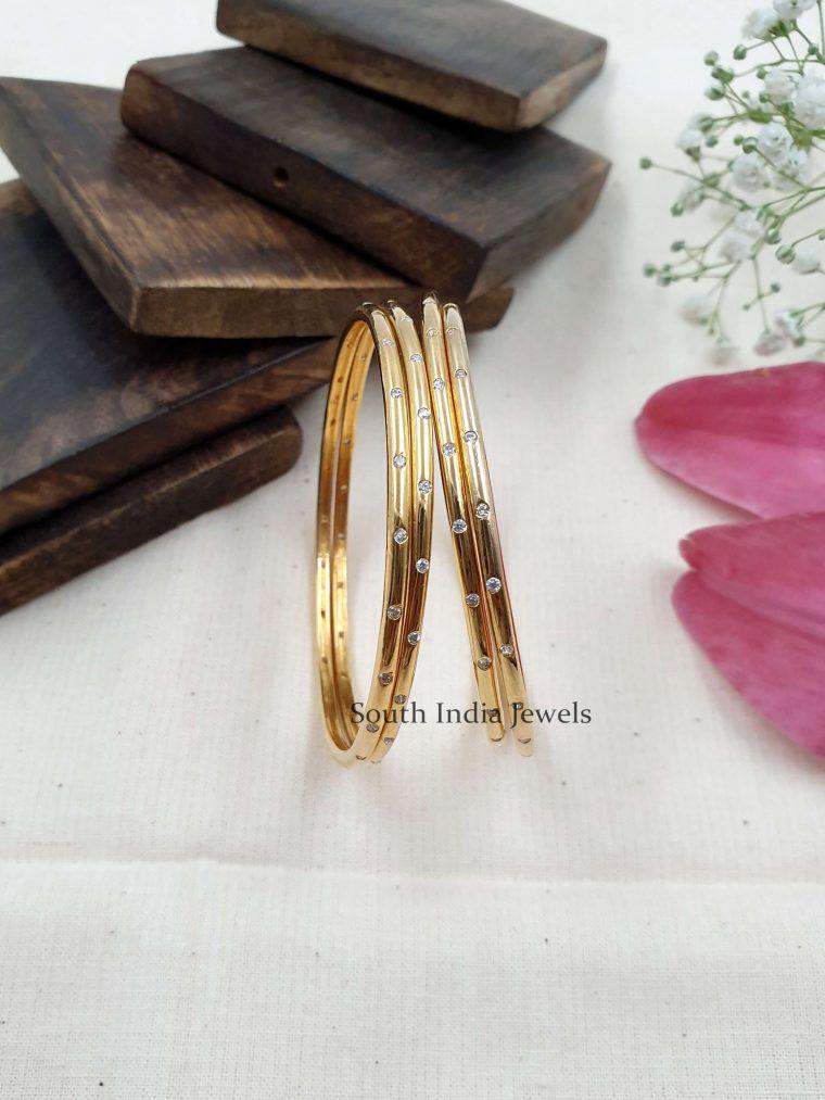 Gorgeous Gold Replica Bangle Set