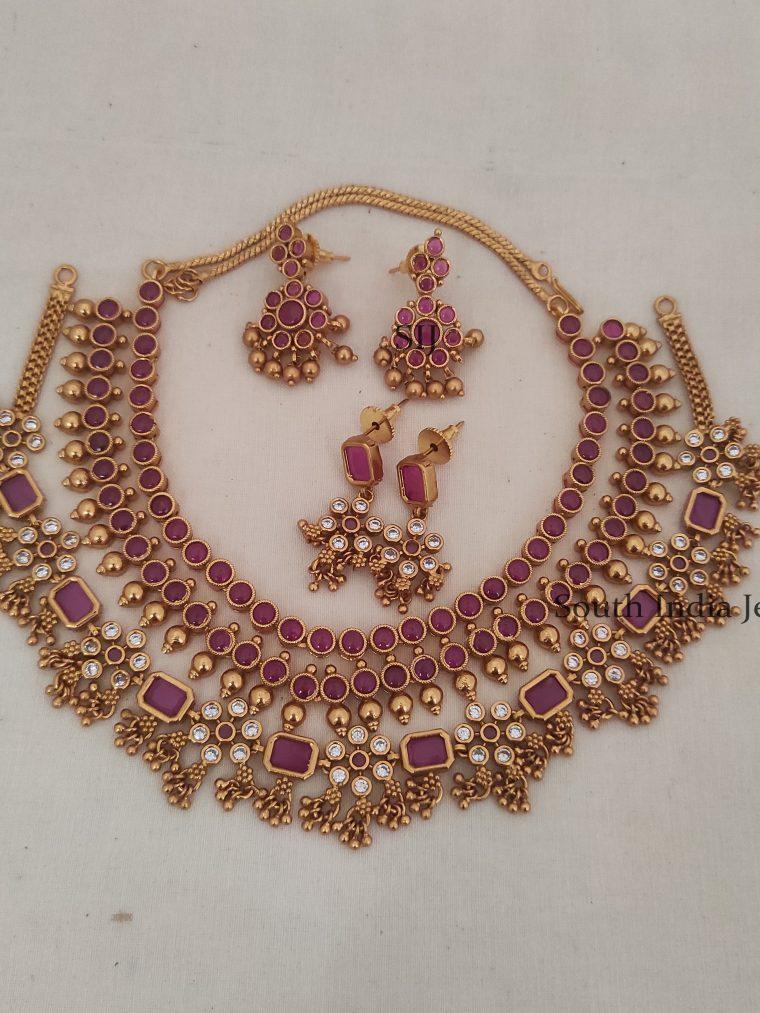 Gorgeous Kerala Ruby Combo Set