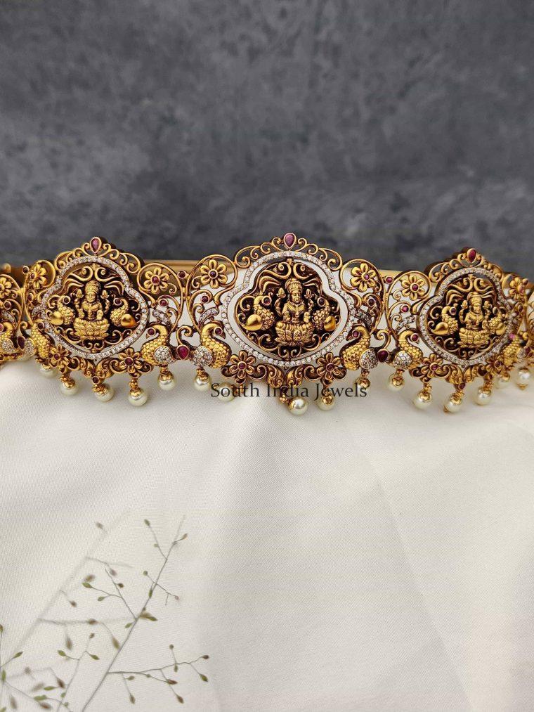 Bridal Lakshmi Floral Design Hip Belt