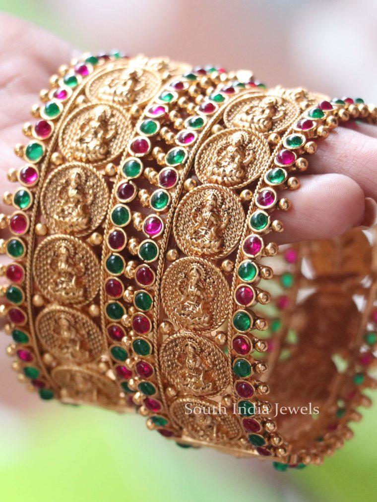 Multi Color Lakshmi Bangle Set