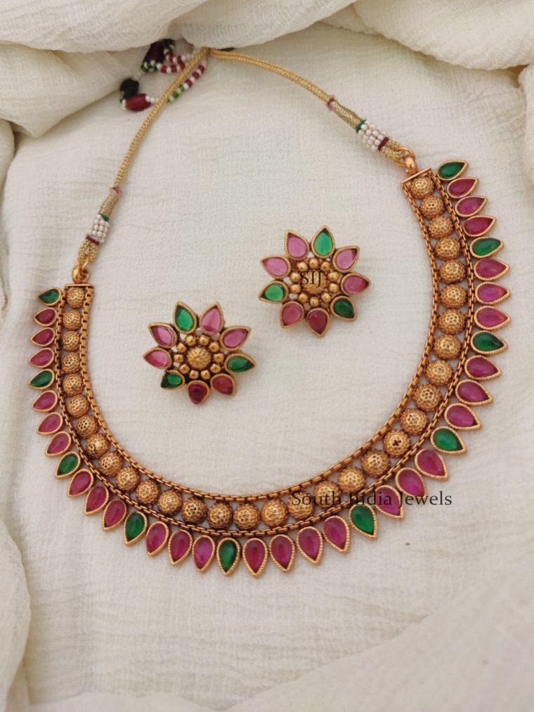 Mulla Muttu Design Necklace