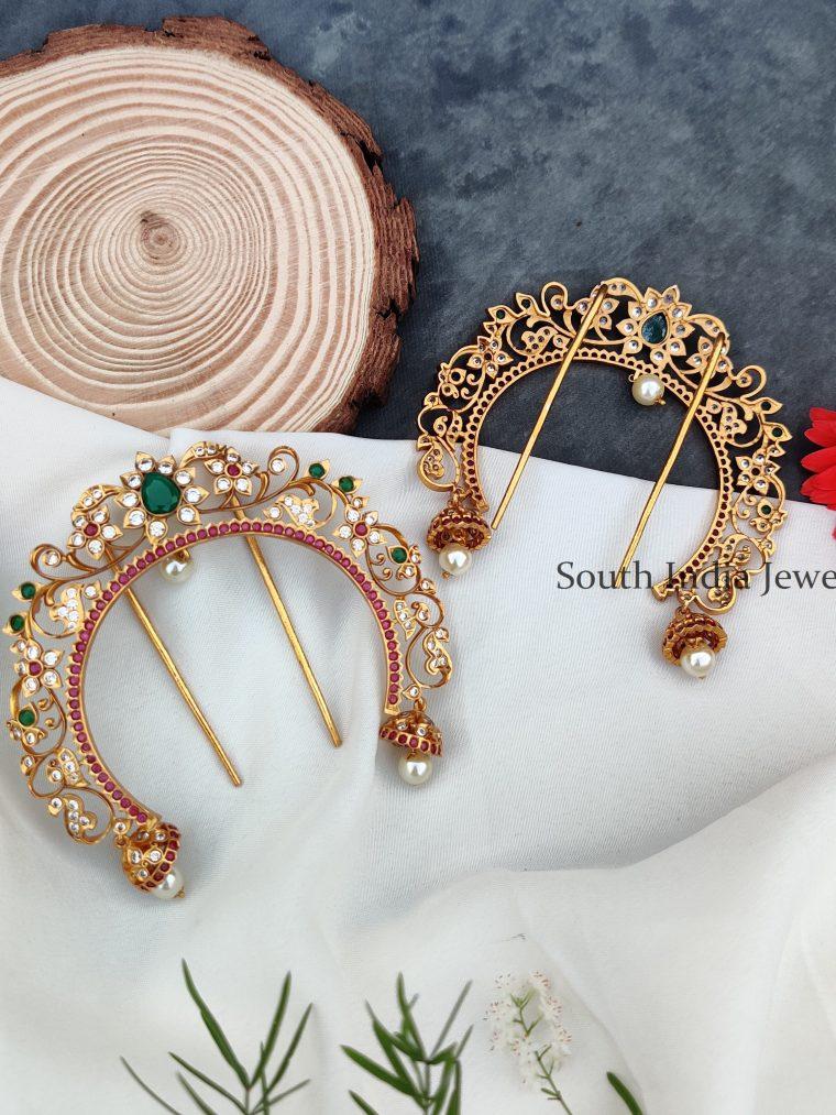 Queen Style Floral Jada Billai