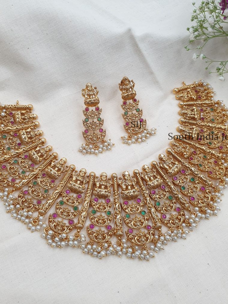 Rich Bridal Lakshmi Choker