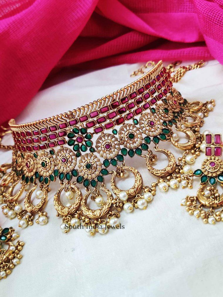 Royal chandbali Design Necklace