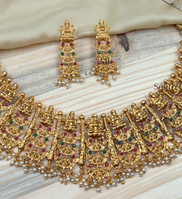 Stunning Designer Lakshmi Choker