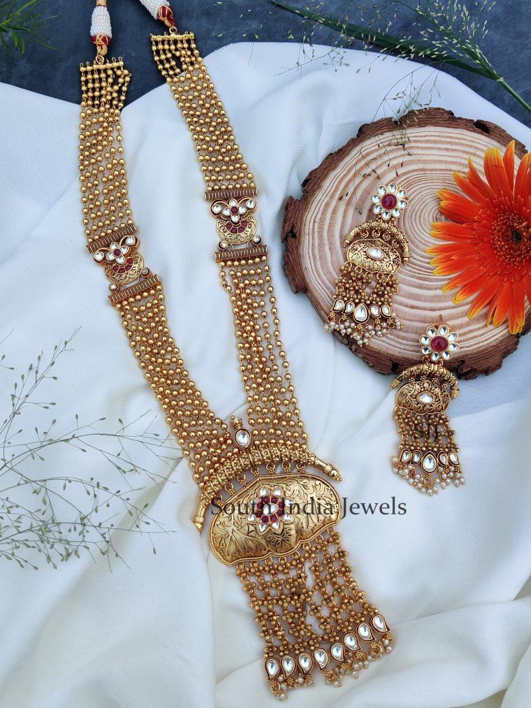 Traditional Beaded Layered Haram