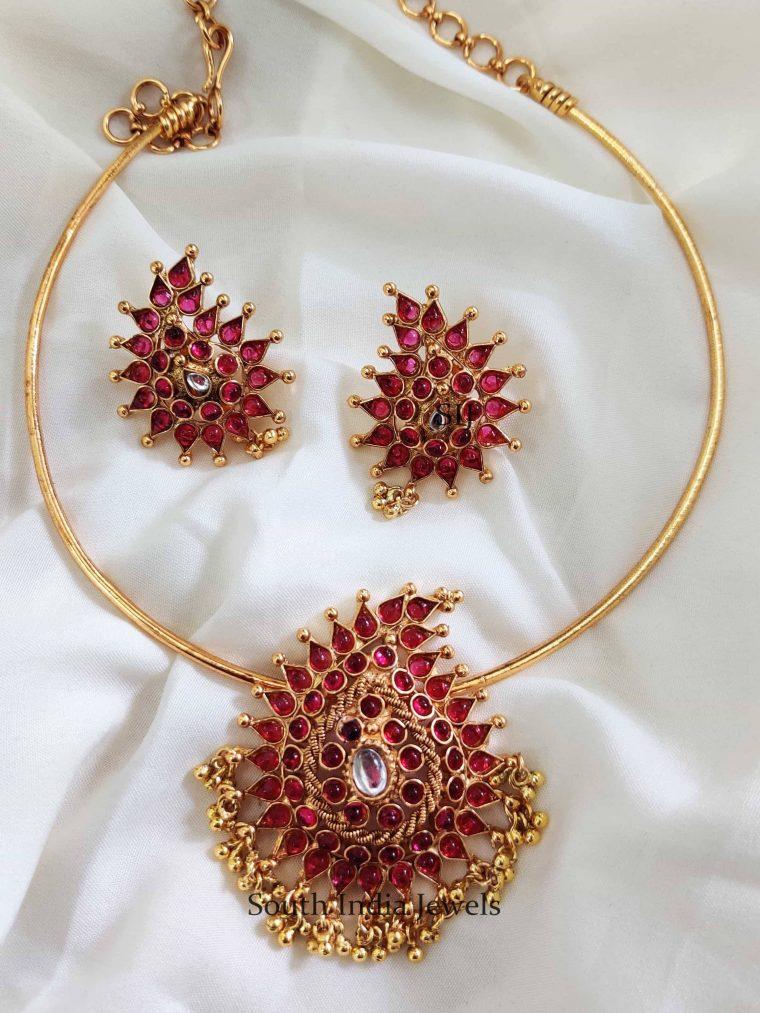 Traditional Hasli Design Kemp Necklace