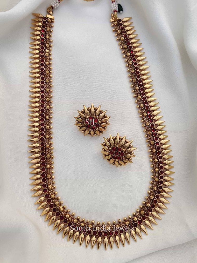 Traditional Spike Design Ruby Haram (2)