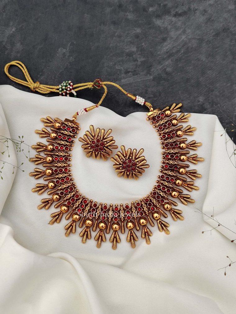 Unique Kemp Stone Necklace